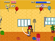 Click to Play Jumpy Monkey