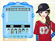 Click to Play Hiphop Gal Dressup