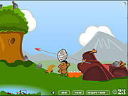 Click to Play Sling Wars in the Middle Ages