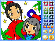 Click to Play Manga Mania Coloring