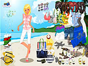 Click to Play Celeste Beach Dressup