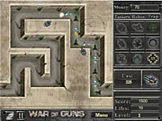 Click to Play War of Guns