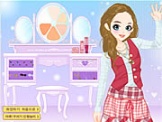 Click to Play Prep School Chick Dressup
