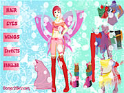 Click to Play Butterfly Girl Dressup