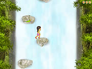 Click to Play Jess Waterfall Jumps