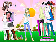 Click to Play Sunshine Dressup