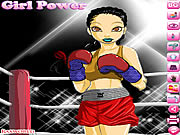 Click to Play Boxing Girl Dress Up