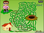Click to Play Maze Game - Game Play 2