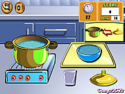 Click to Play Cooking Show: Chicken Fried Rice