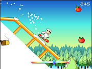 Click to Play Polar Bear Snowboard