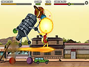 Click to Play Ben 10 - Saving Sparksville