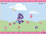Click to Play Share Bear's Catch-a-Petal Game