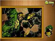 Click to Play Puzzle Madness - Hulk
