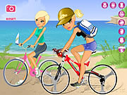 Click to Play Maria And Sofia Go Biking