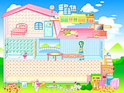 Click to Play Barbie House