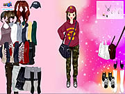 Click to Play Korean Girl Dress Up