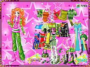 Click to Play Ginger Star Dressup