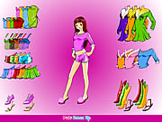 Click to Play Anime Girl Dressup