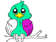 Click to Play Birds Coloring