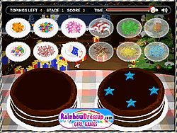 Click to Play Christmas Cake