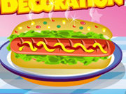 Click to Play Hot Dog Decoration