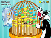 Click to Play Tweety's Cage Hop