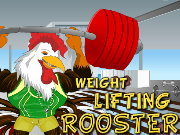 Click to Play Weight Lifting Rooster